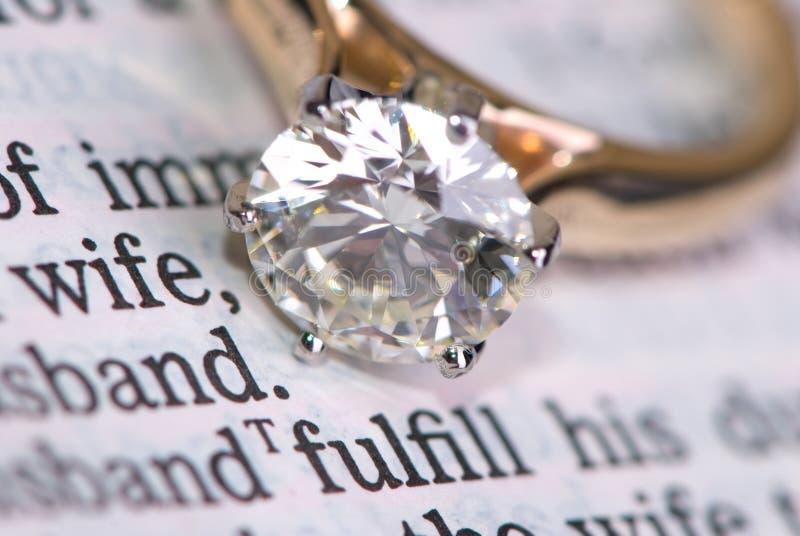pierścień na ślub zdjęcia royalty free