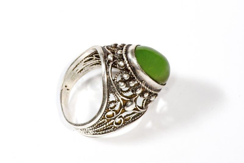 pierścień nefrytu cień. obraz royalty free