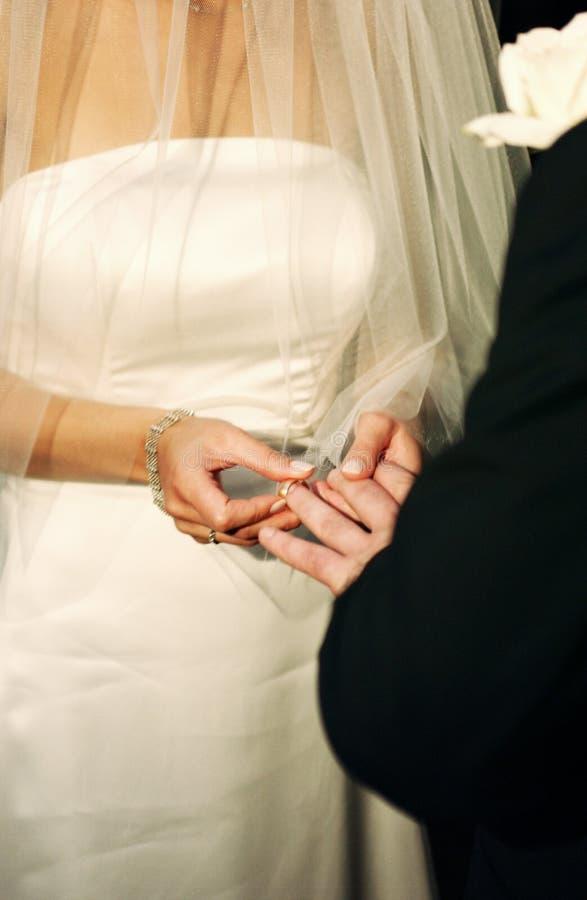 pierścień wymiany fotografia stock