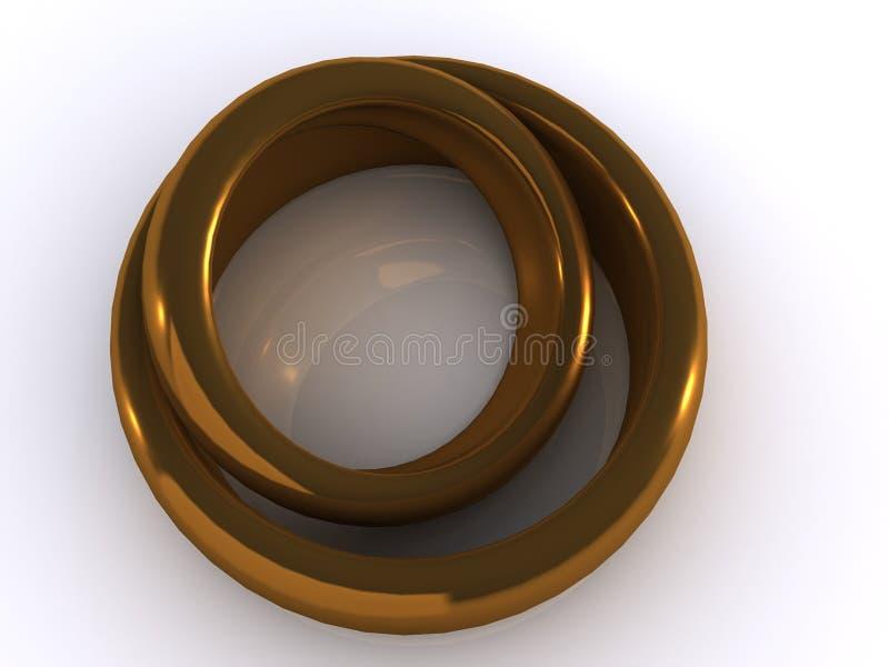 pierścienie ilustracji