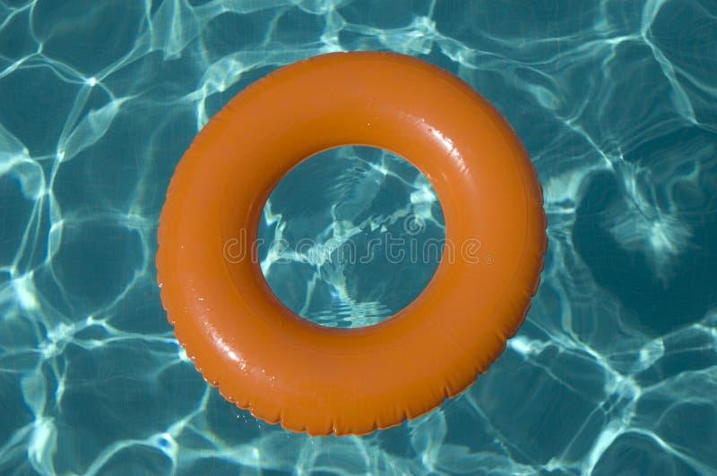 pierścionek nadmuchiwana woda zdjęcie royalty free