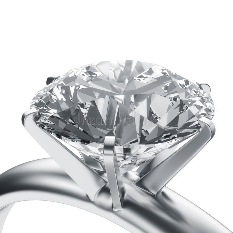 pierścionek z diamentem fotografia royalty free