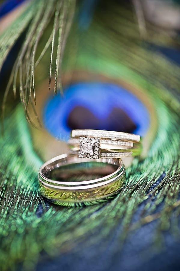 pierścionków target1085_1_ zdjęcie stock