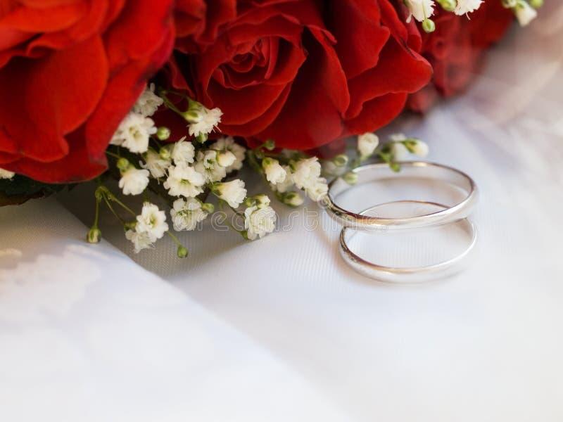 pierścionków target1768_1_ fotografia stock