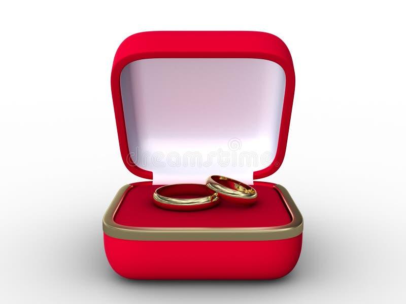 pierścionków target1870_1_ royalty ilustracja