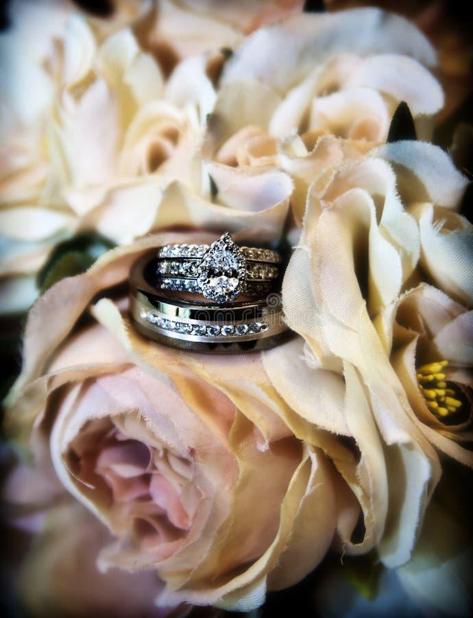pierścionków target2108_1_ fotografia stock