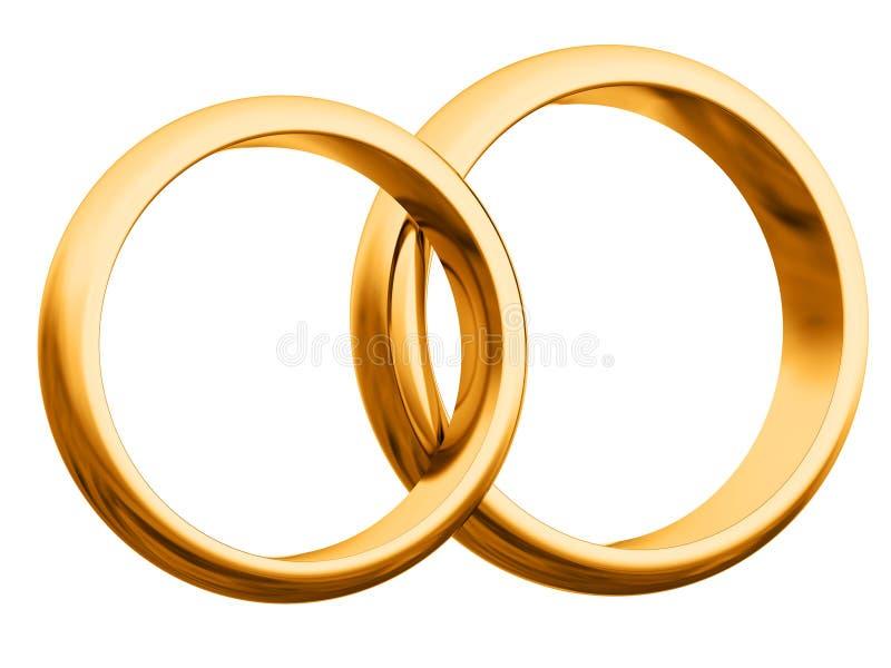 pierścionków target2624_1_ royalty ilustracja