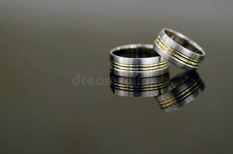 pierścionków target3784_1_ zdjęcie royalty free