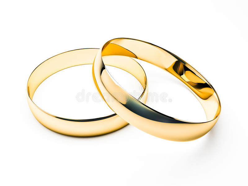 pierścionków target768_1_ ilustracja wektor
