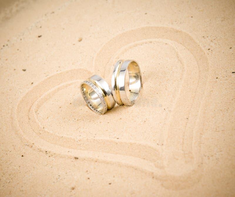 pierścionki fotografia stock