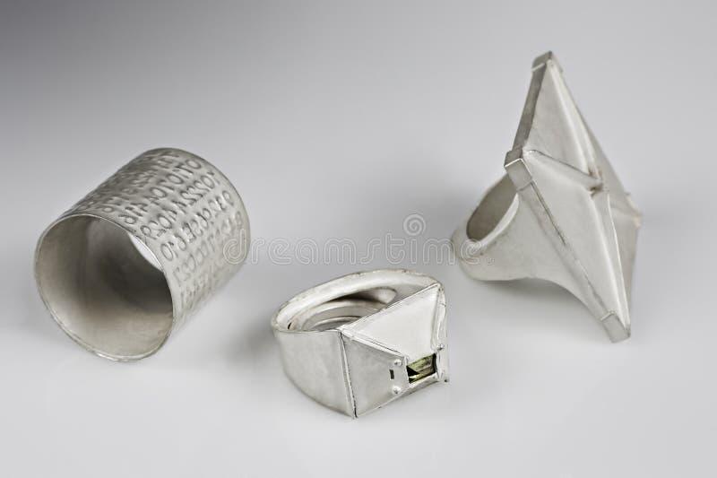 pierścionku srebro obrazy royalty free