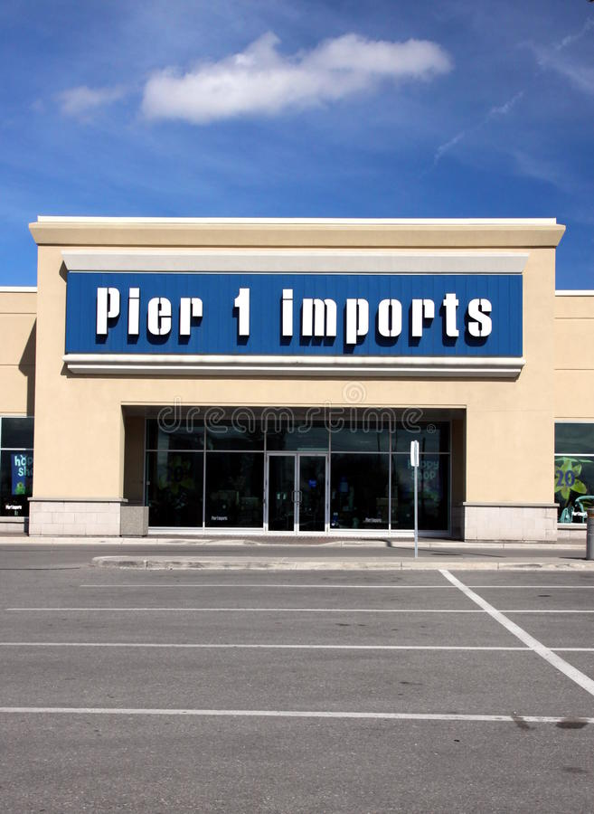 Download Pier 1 Imports editorial photo. Image of franchise, blue - 19279381