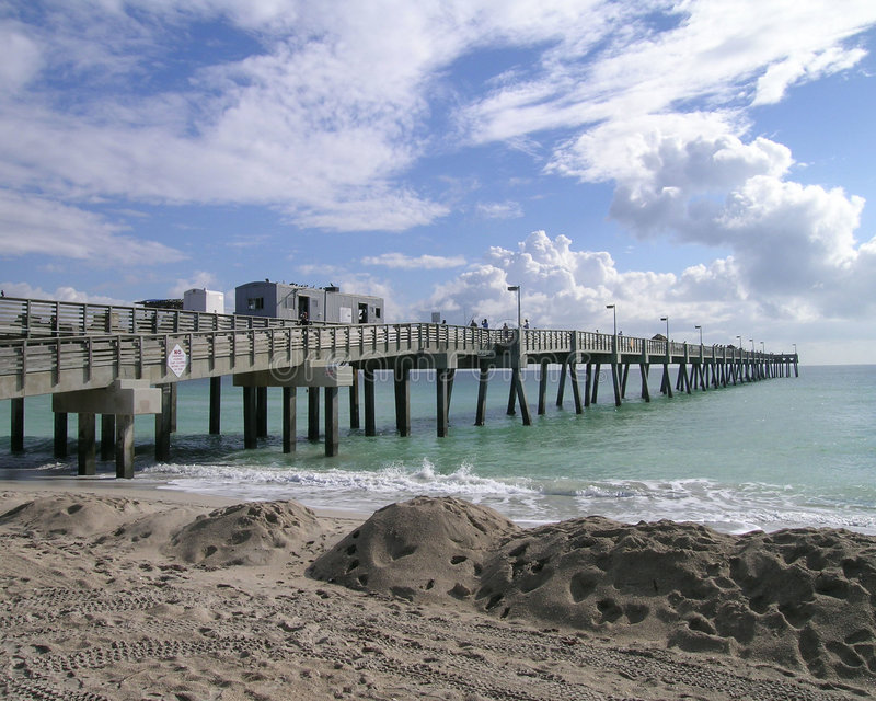 The Pier royalty free stock images