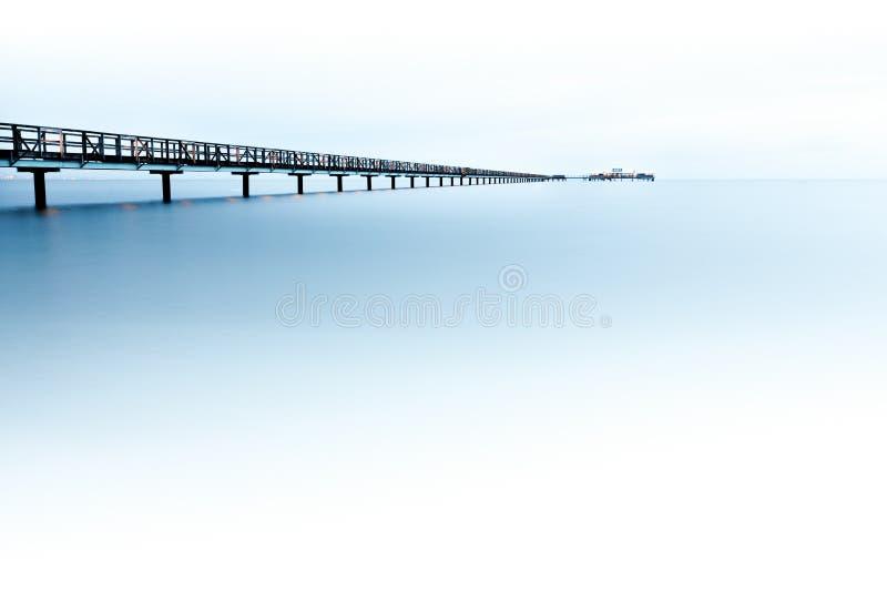 Download Pier stock image. Image of architecture, silhouette, bridge - 19398665
