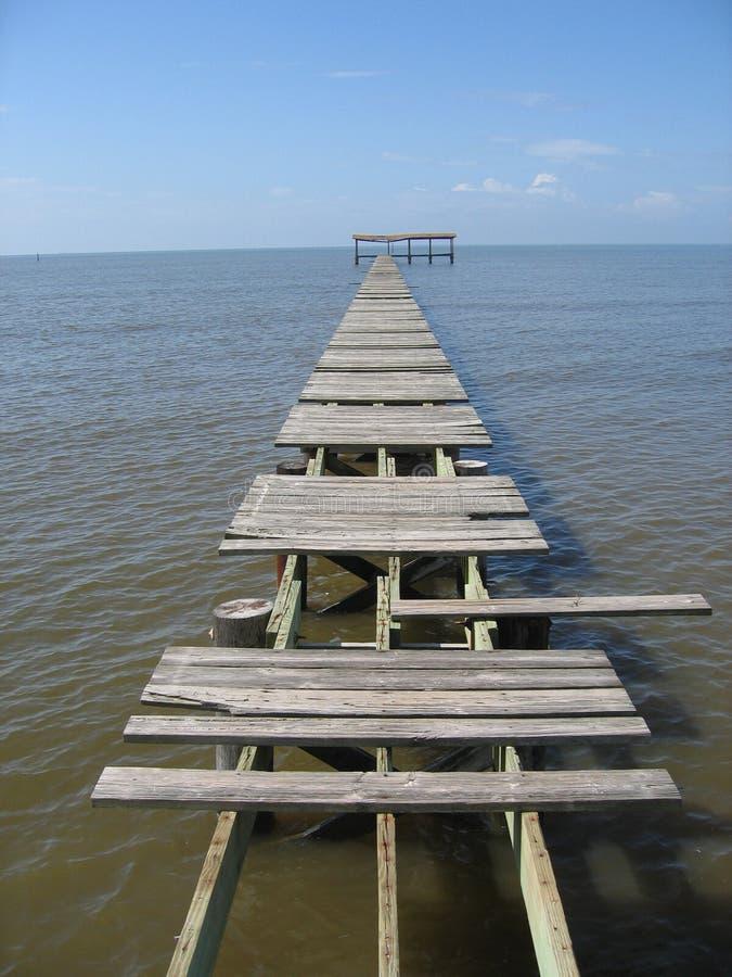 Pier stockfoto