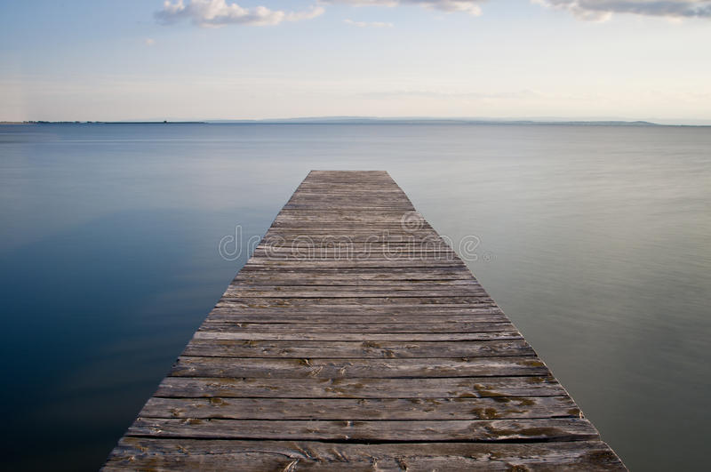 Download Pier stock photo. Image of skyline, open, surface, lake - 26500686