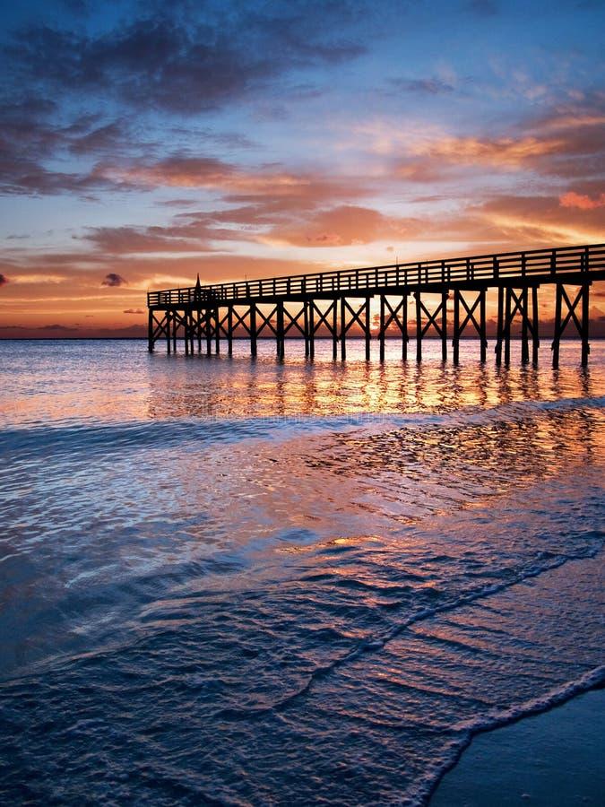 The pier stock photos