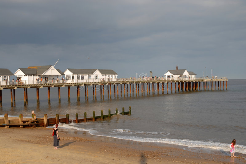 Download The Pier stock photo. Image of seaside, fishing, amusements - 3272746