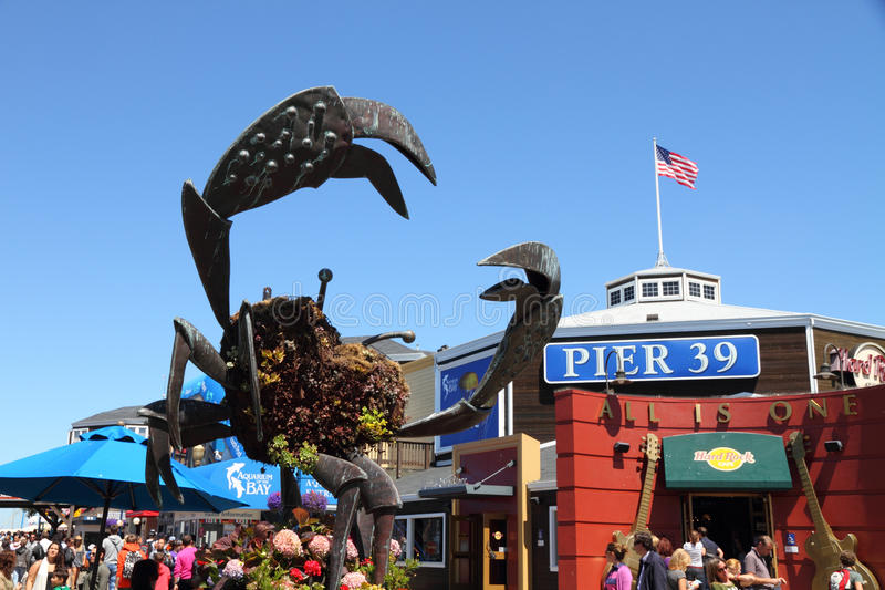 Pier 39, San Francisco stockbild