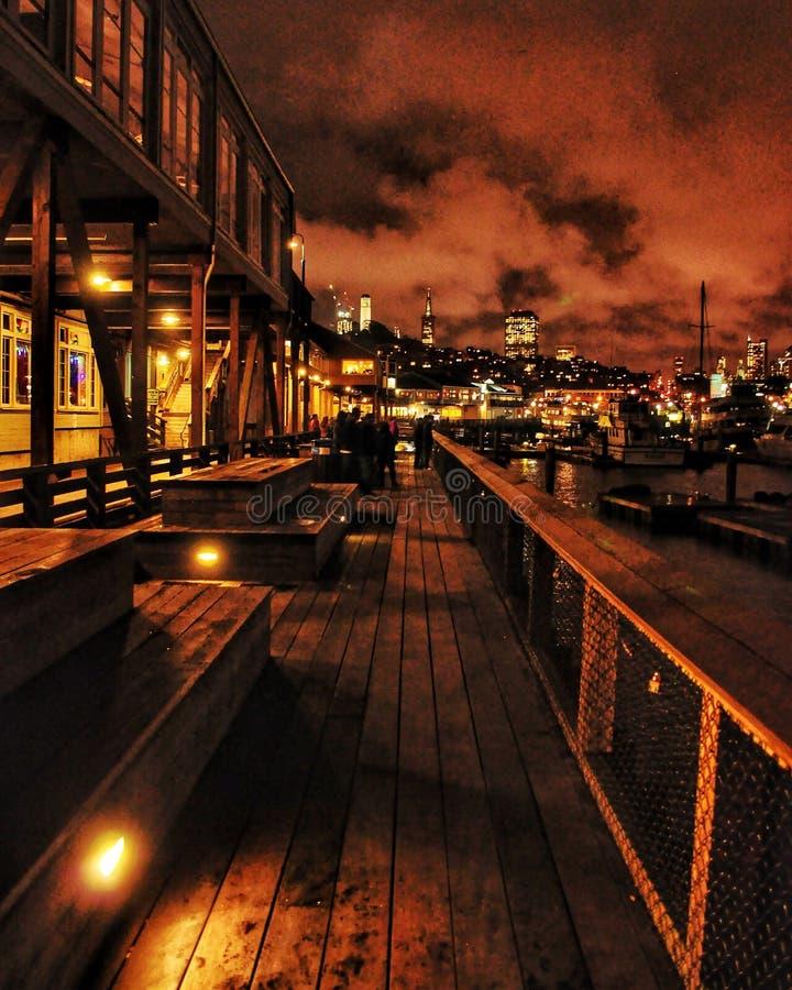 Pier 39 stockfotos