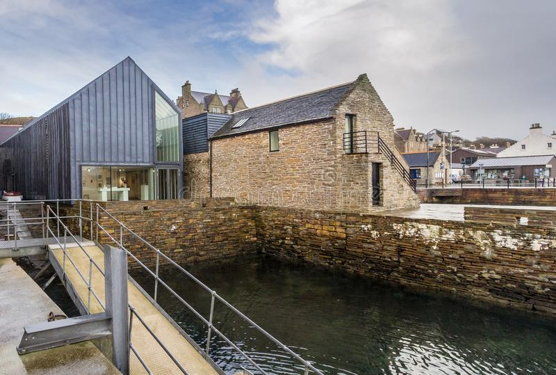 Pier Arts Centre, Stromness stock images