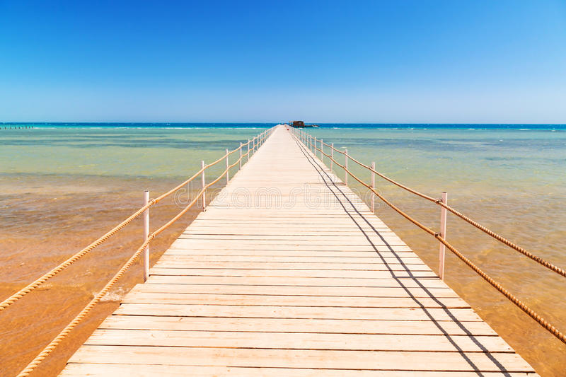 Download Pier On The Beach Of Red Sea In Hurghada Stock Photo - Image: 30801150
