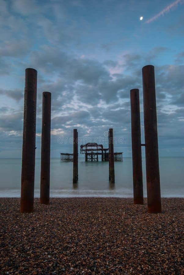 Pier Brighton ad ovest Regno Unito fotografia stock
