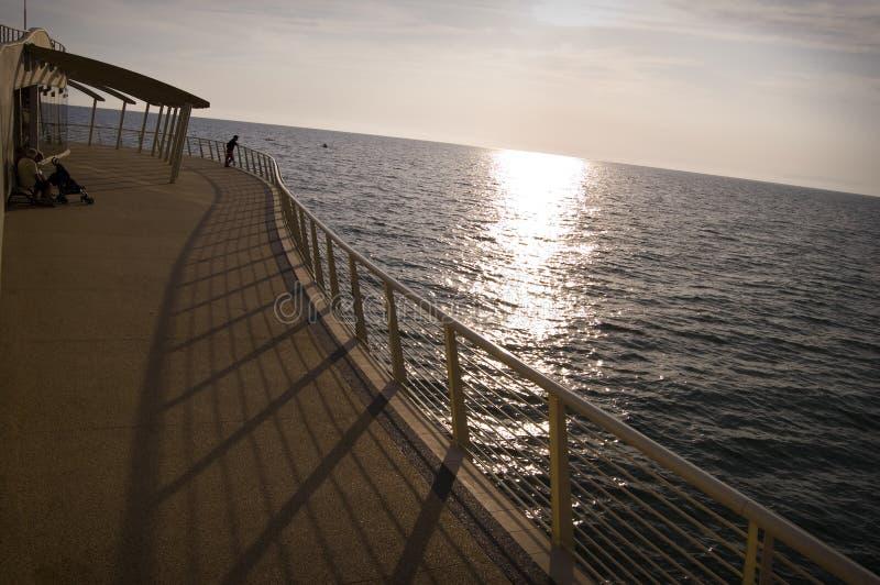 Pier at Camaiore stock photos