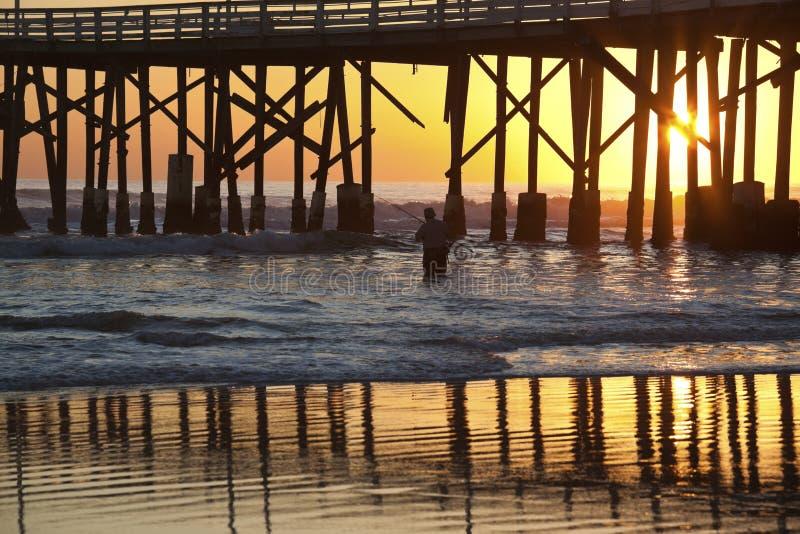 Pier in Daytona Beach stock image