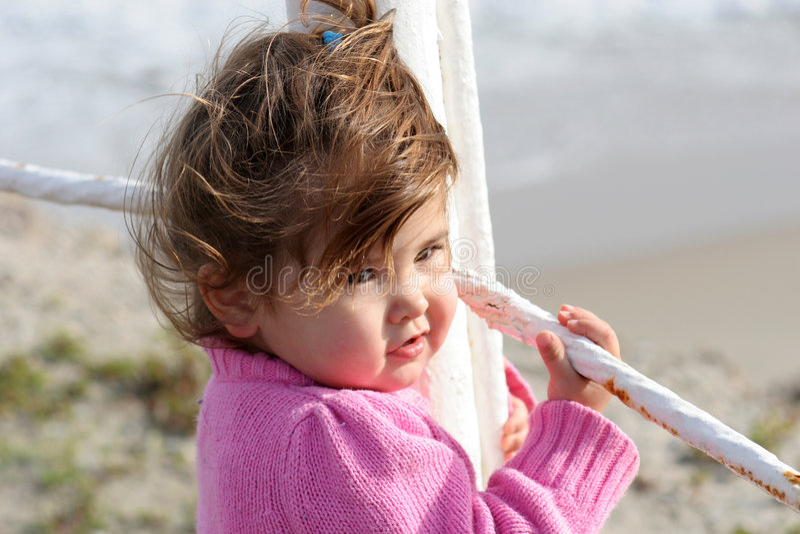 pier dziecka obrazy royalty free