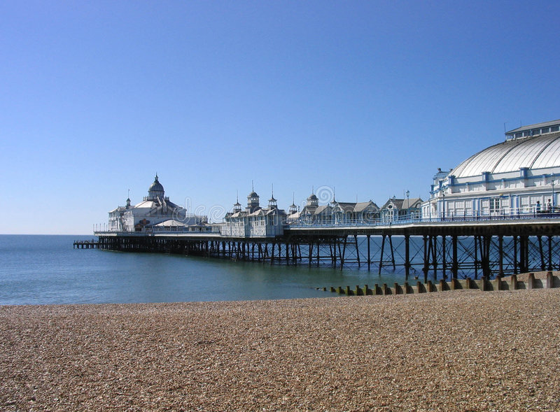 pier eastbourne obraz royalty free