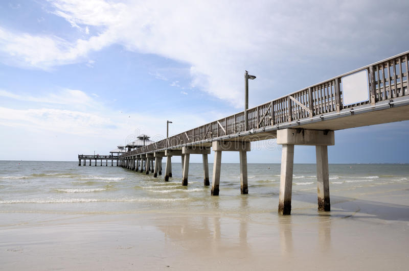 Download Pier In Fort Myers, Florida Stock Photo - Image: 12336846