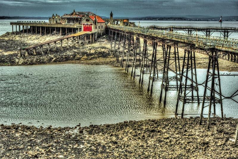Pier Full royaltyfri foto