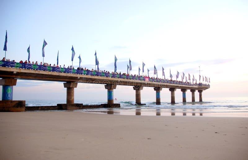 Download Pier full of spectators editorial photo. Image of spectators - 8851856