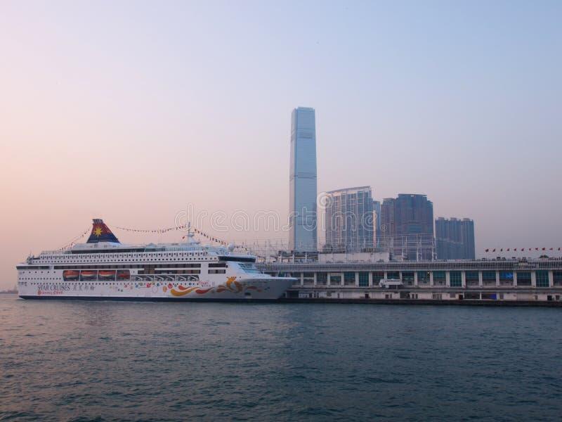 Pier In Hong Kong Editorial Image