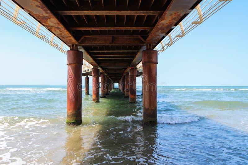 Pier Italy foto de archivo
