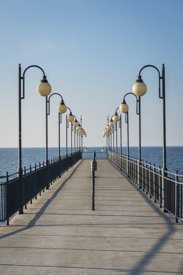 Download Pier In Miedzyzdroje, Poland Stock Photo - Image: 30711394