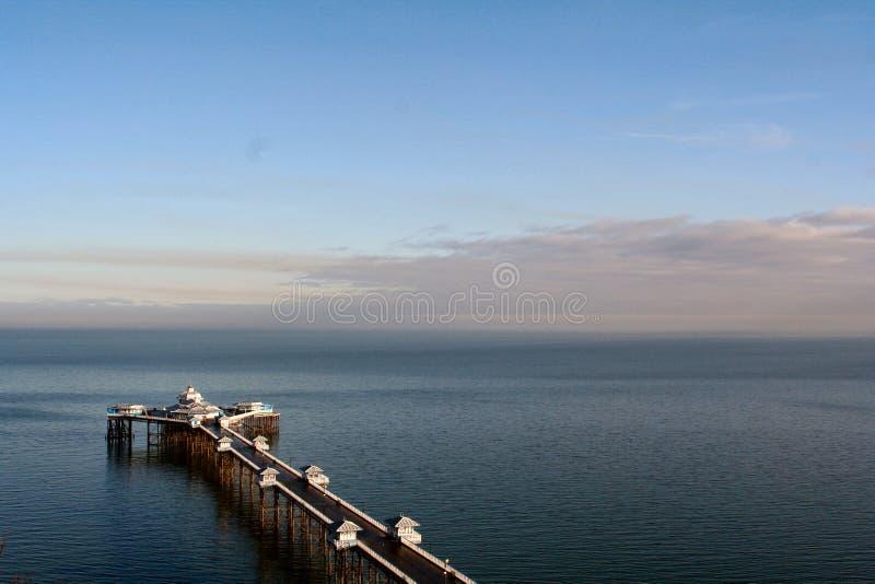 pier morzem obrazy royalty free