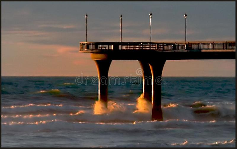 Pier New Brighton royalty free stock images