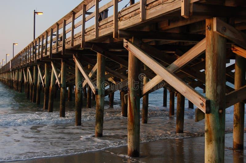 pier oceanu zdjęcia stock