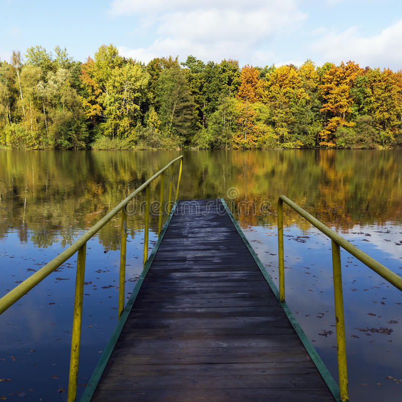 Free Pier On A Lake Stock Photo - 45871300