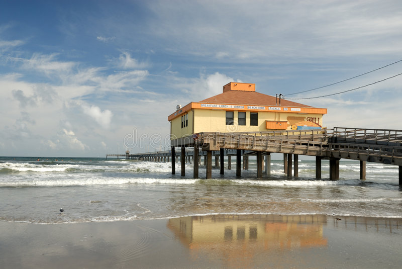 Download Pier On Padre Island, Texas USA Stock Photo - Image: 6939250