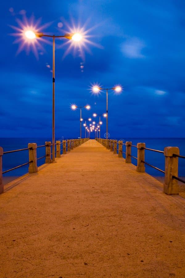 Pier in Porto Santo by twilight