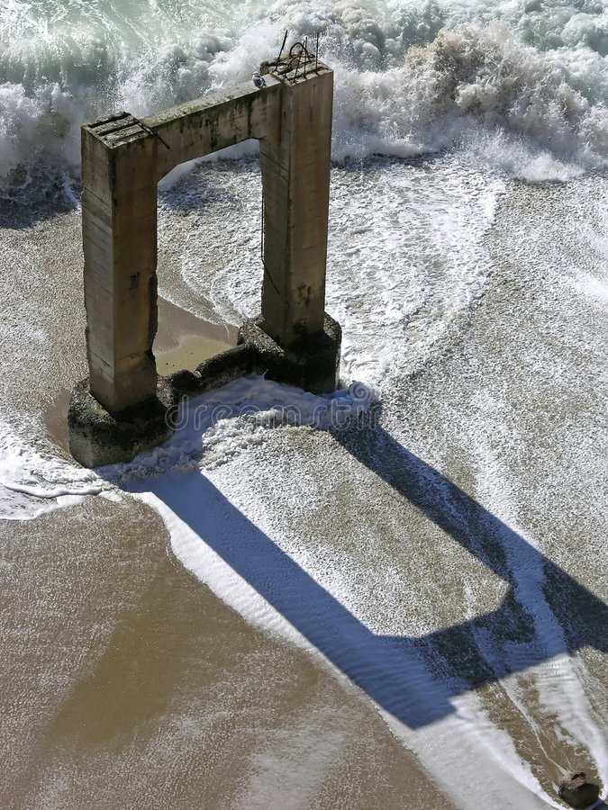 Download Pier Reflections Stock Image - Image: 507241