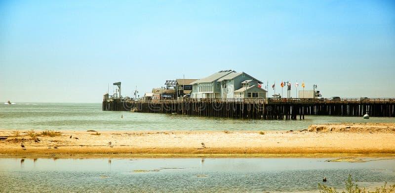 Pier of Santa Barbara stock image