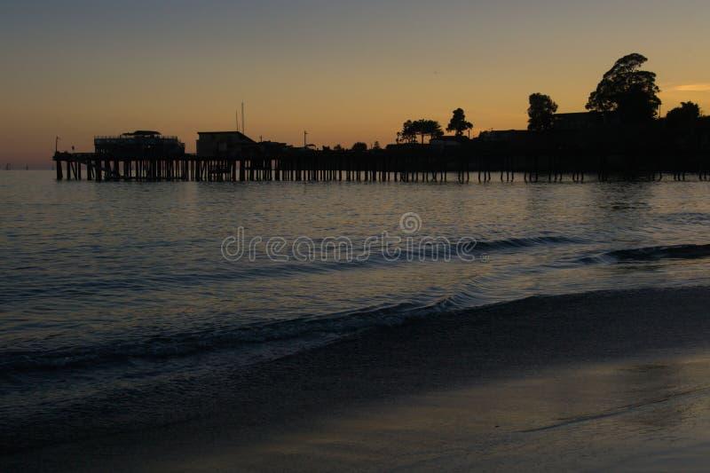 Pier in Santa Cruz stockfoto