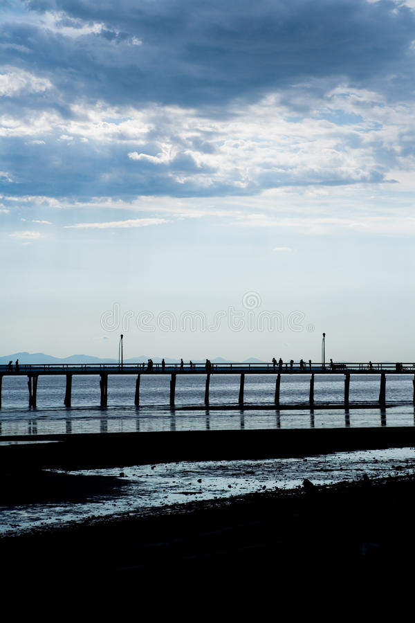 Download Pier and sea stock image. Image of pier, beach, scenics - 10595411