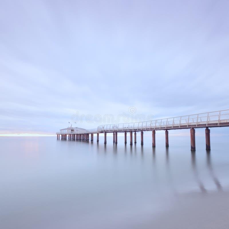Download Pier Sea Long Exposure Camaiore Versilia Tuscany Stock Photo - Image: 23971546