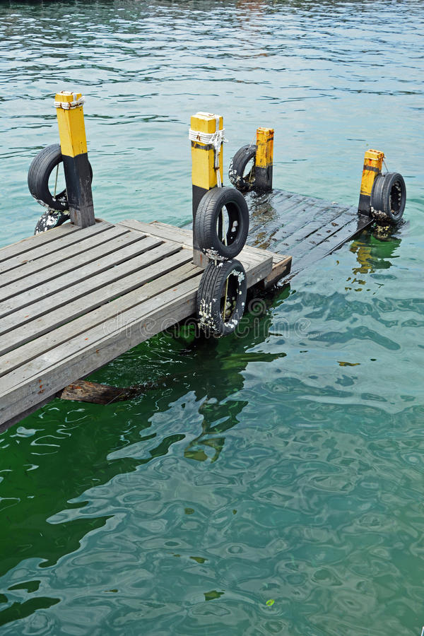Pier in Semporna Sabah Borneo Malaysia