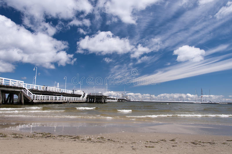 Pier In Sopot Editorial Stock Image